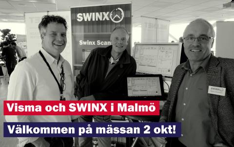 SWINX visar fakturaskanning med Visma i Malmö..!