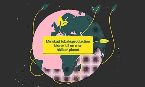 Minskat tobaksbruk - en viktig insats för en hållbar planet