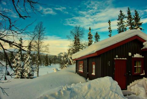 Rimelige hytteperler ledig i vinterferien