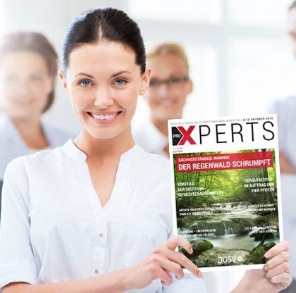 Neue Ausgabe des Gutachter- und Sachverständigenmagazin proXPERTS  erhältlich