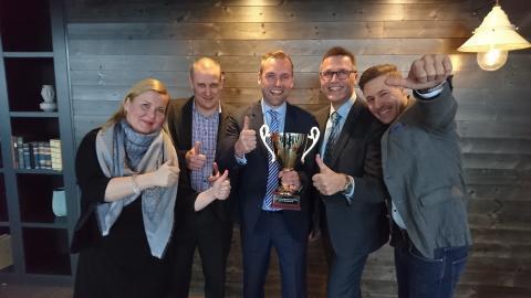 Asiakastieto on Suomen Paras myyntiorganisaatio 2016