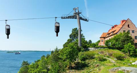 Vinbana till Högberga Gård