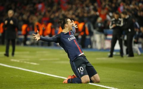 Tittarrekord på Viaplay när Zlatan spelade Champions League