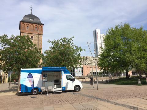 Beratungsmobil der Unabhängigen Patientenberatung kommt am 18. April nach Chemnitz.