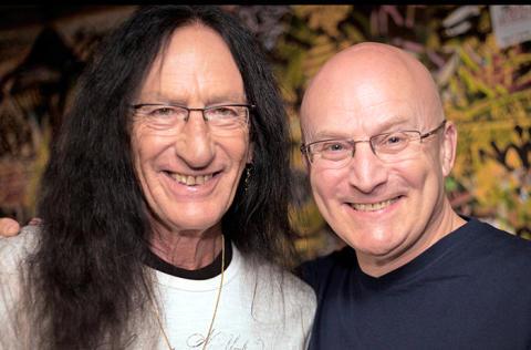 KUTSU_Lehdistötilaisuus 7.5. klo 17: Trevor Hensley, jonka sydän petti 2013 Helsingissä, tulee Uriah Heep -legendojen kanssa keikalle