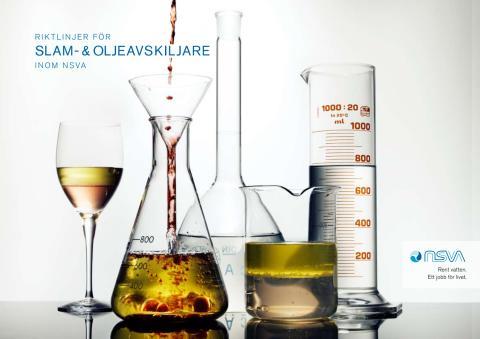 NSVA - Riktlinjer för slam- och oljeavskiljare
