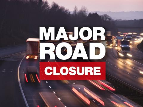 UPDATE: ROAD CLOSURE: A34 southbound