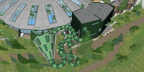Making a splash! Center Parcs unveils designs for new raft rides, family play area and toddler pool at Longleat Forest