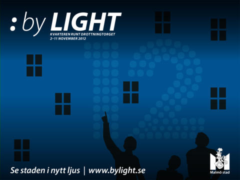 Invigning av ljusarrangemanget :by Light