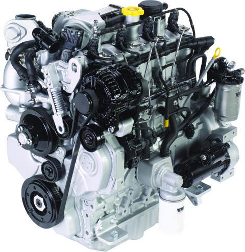 VM Motori R750 EU6/steg 4F – lanseras av SwedMotor på MaskinExpo