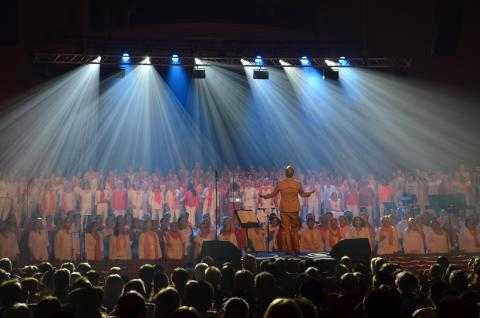 """""""Du kan sjunga gospel""""-kören Göteborg"""