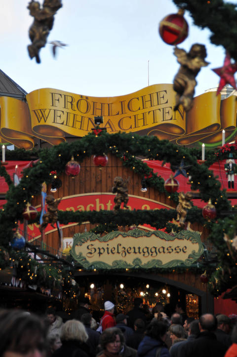 Nordtyske julemarkeder: Hamborg