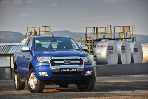 A Ford teljes haszonjármű kínálata a Construmán