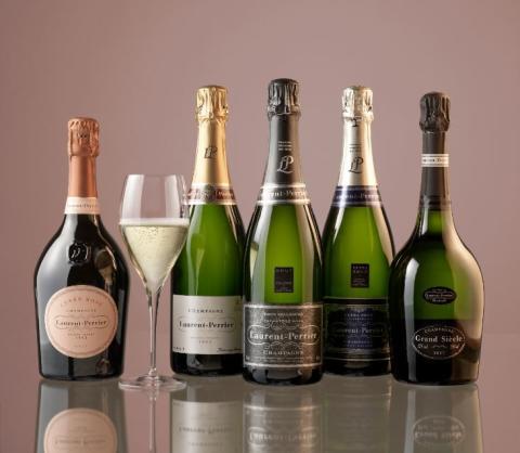 Champagnehuset Laurent Perrier till Chelsea Flower Show