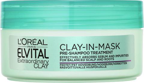 Elvital Extraordinary Clay pre mask