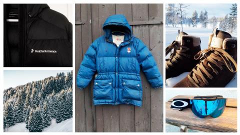 Allt fler köper och säljer skidmode och vintersportutrustning second hand
