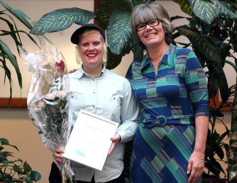 Fyra kulturarbetare belönades med stipendier