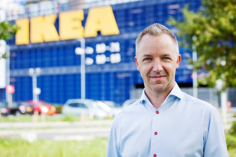 Michael Valdsgaard, chef för digital transformation på Inter IKEA Systems
