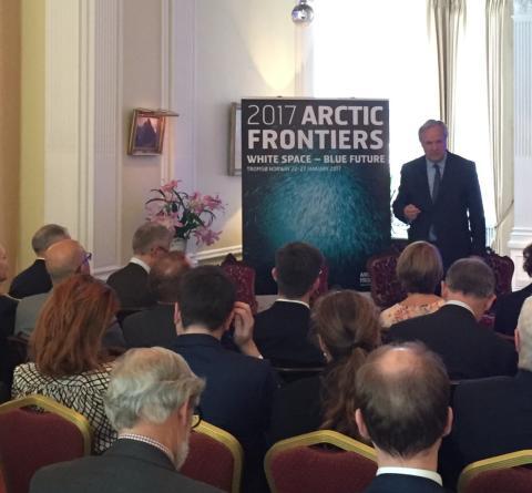 Arctic Frontiers seminar on the Arctic Ocean, London May 23