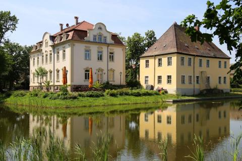 Eines der beliebtesten Ziele im Leipziger Neuseenland: das Schillerhaus in Kahnsdorf