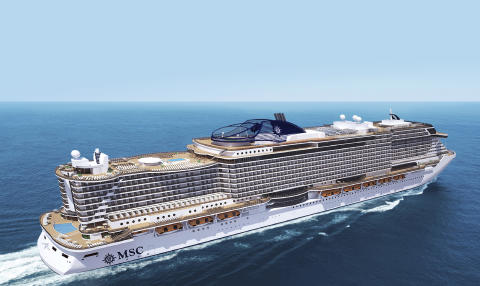 "MSC Cruises nye skibsprototype ""Seaside"""