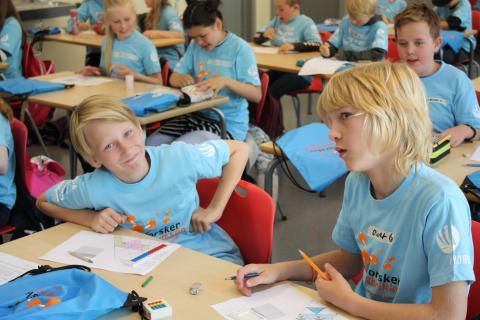Ferieforskere Forskerfabrikken Otta_foto Forskerfabrikken