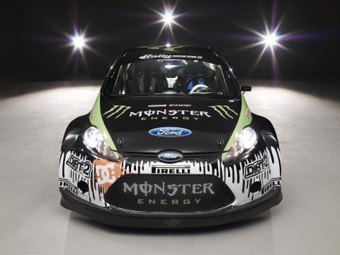 Ken Block kör svenskbyggd Monster-Fiesta i Rally America och X Games - bild 2