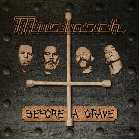 """""""Man kan inte hjälpa någon som ligger i en kall grav"""" - Mustasch om nya singeln """"Before A Grave"""""""