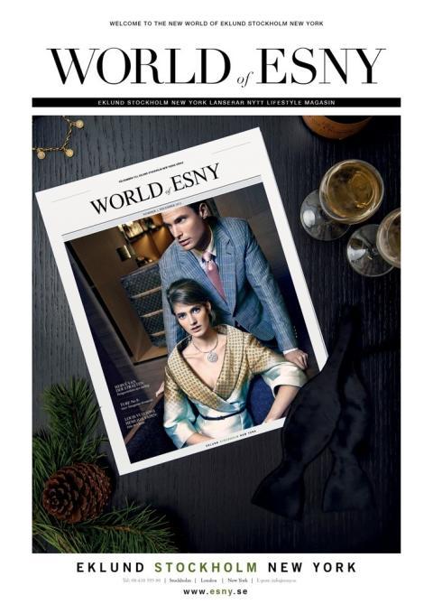 World of ESNY - Eklund Stockholm New York nya livsstilsmagasin