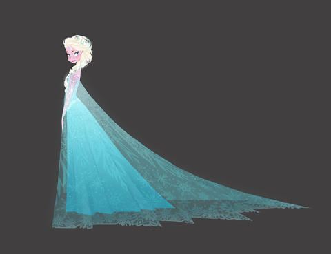 Frozen, Brittany Lee (2013) © Disney / Digital print on paper