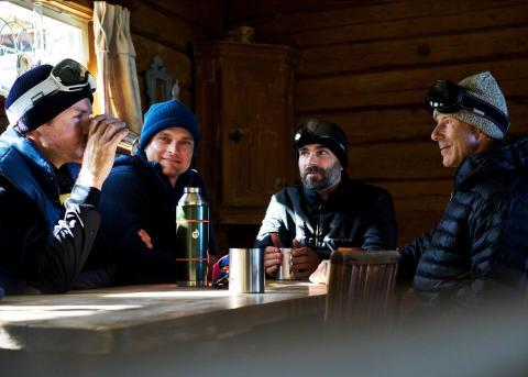 Legendary skier Ingemar Stenmark back on the mountain with Spektrum goggles.
