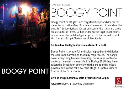 Boogy Point i Living Room by Stockholm