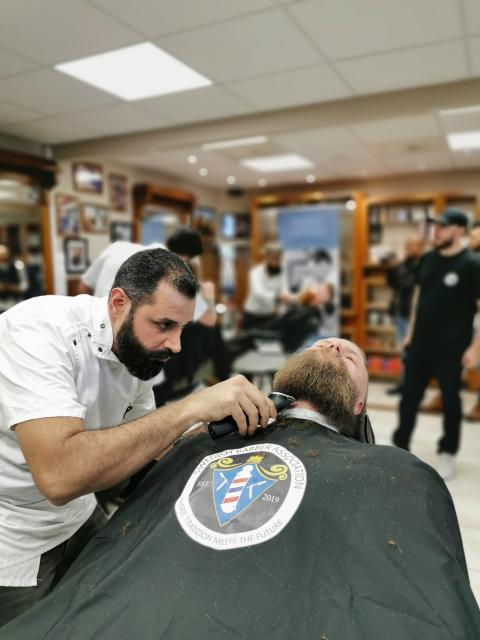 Saeed Ghazi Moradi, Maestro Barbershop, Göteborg
