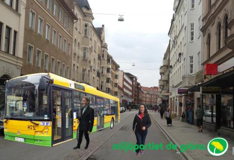 Dags för elbussar på Malmös gator!