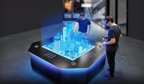 ebm-papst fläktar i unikt hologrambord