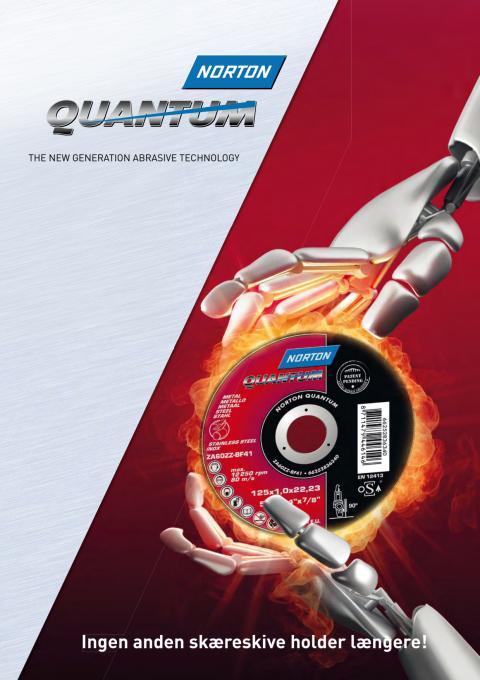Norton Quantum: Skæreskive med ekstra lang levetid