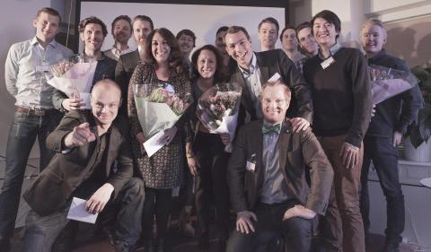 Åtta nya internetbolag imponerar på STING FFW Demo Day