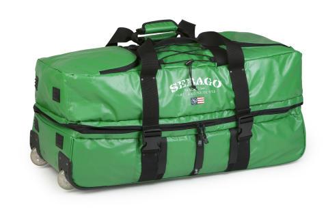 Sebago Roll Wheely Bag Green