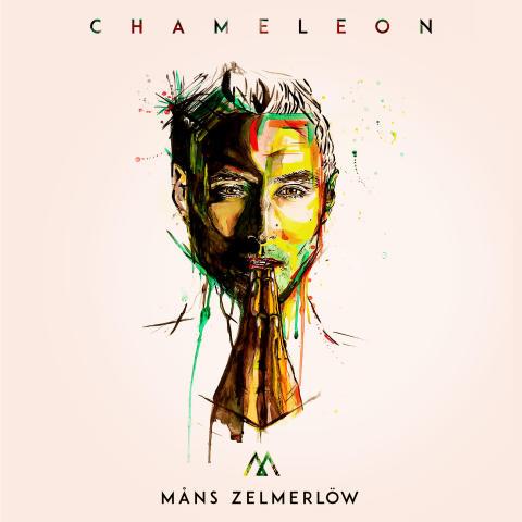 Chameleon - omslag, måns Zelmerlöw