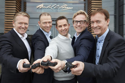 Bertel O. Steen med i Connected Car