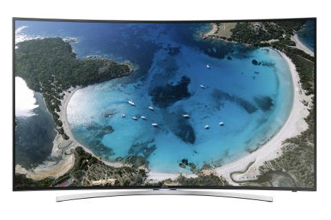 Tv-världen är inte längre platt – årets nya modeller från Samsung