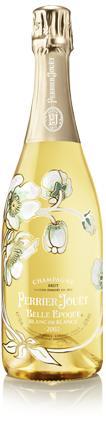Exklusiv listning av Perrier-Jouët Belle Epoque Blanc de Blancs 2004 med start 25 februari
