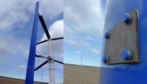 Innovativ vindmølleproducent får ro i sindet med Nord-Lock