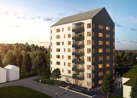 Nu startar vi försäljningen av lägenheterna i HSB brf Strandängen, vid Svartå Strand i Mjölby