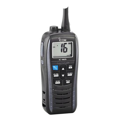 Icom IC-M25 - Ny marinradio från Icom!
