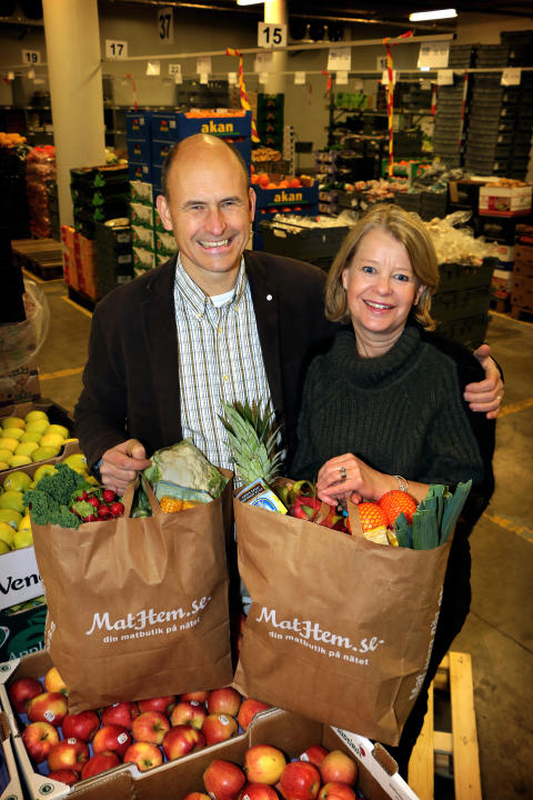 Tomas & Karolin Kull, grundare av MatHem.se