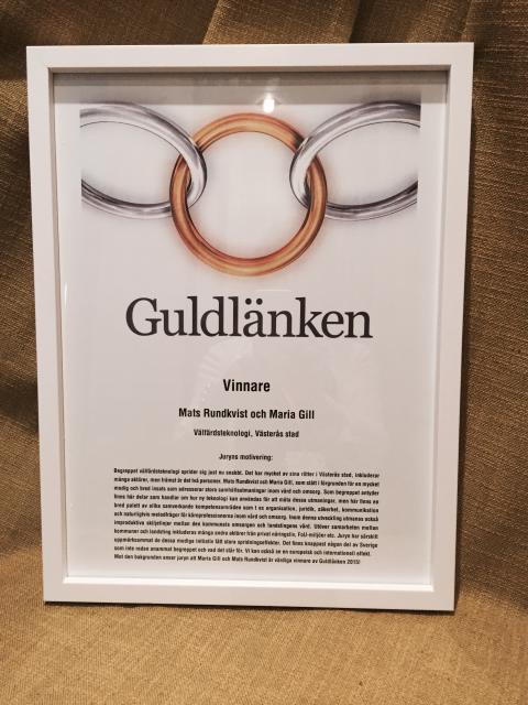 Diplom Guldlänken