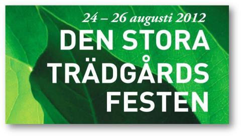 Pressvisning Den stora trädgårdsfesten på Sofiero 23/8 11:00