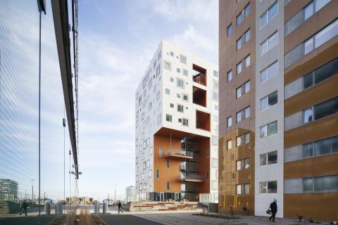 Ungdomsboliger ved Aarhus Havn/Student housing tower