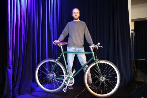 """""""Deine eigenART"""" in Leipzig: Elias Koster, Inhaber von DesignYourBike"""